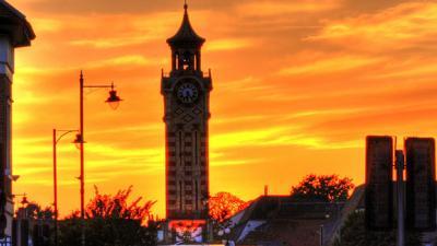 Epsom Town Centre Sunset