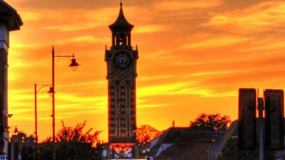 Epsom Town Centre Sunset