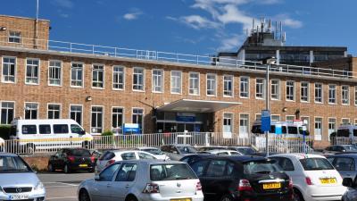 Front Of Epsom Hospital