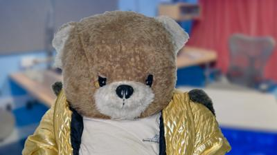 Ruddles The Bear