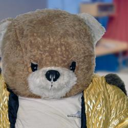 Ruddles The Bear's Picture