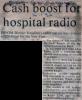 Cash boost for hospital radio.